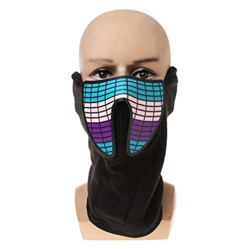 Leucht Schädel Maske Masque Horreur Halloween Dekoration Handwerk Lieferungen ()
