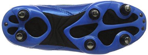 Optimum 6 Stud Tribal Lace Up, Chaussures de Football Garçon Bleu (bleu/vert)