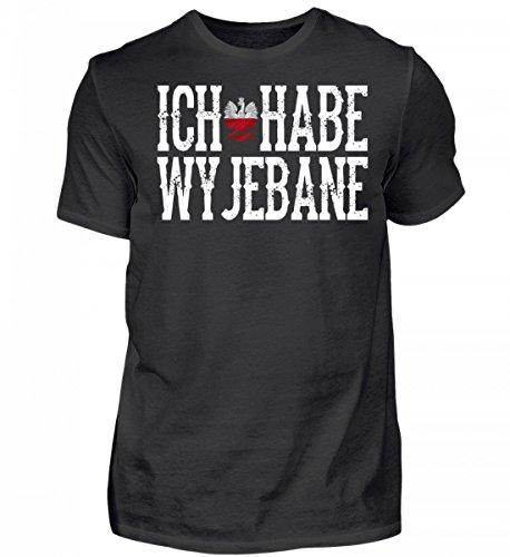 Hochwertiges Herren Shirt - Polen- Ich Habe wyjebane