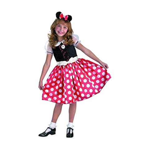 Disney Minnie Mouse Toddler / Child Costume | L