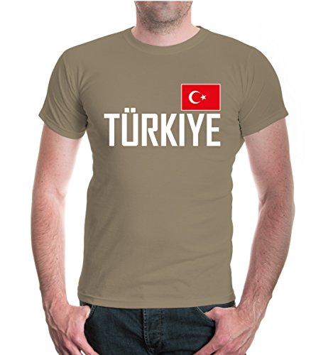 buXsbaum® T-Shirt Turkey Khaki