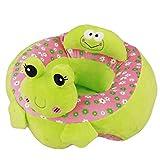 VERCART Coussin d'allaitement et Apprendre Assis Rembourrage Coton Harnais pour Bébé Nouveau-né d'enfant Vert Velours...
