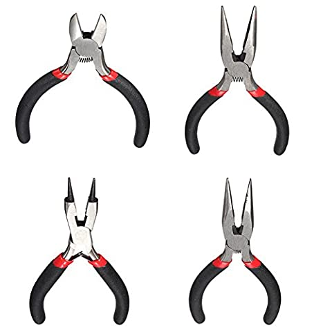 SaySure - Newest Long Flat Needle Nose Combination Pliers