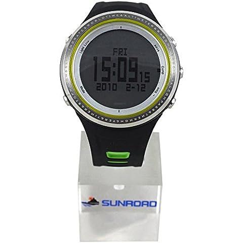 Lixada Guarda impermeabile Pesca Barometro Altimetro Termometro Orologio Multifunzione