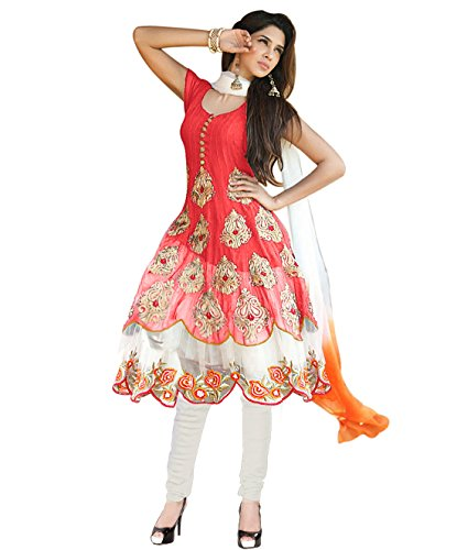 Li-Te-Ra-Peach-Anarkali-Party-Wear-Salwar-Suit-for-Women-Unstitched