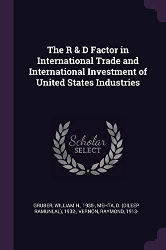 R & D FACTOR IN INTL TRADE & I