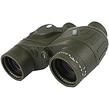 Ailin Home- 7x50C Telescopio militar estándar Compás náutico + Ranging + impermeable + visión nocturna con coordenadas
