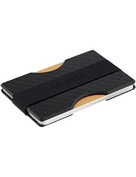 bfe4adb5b Billetera minimalista delgada hecha de policarbonato para guardar de 4 a 12  tarjetas de crédito.