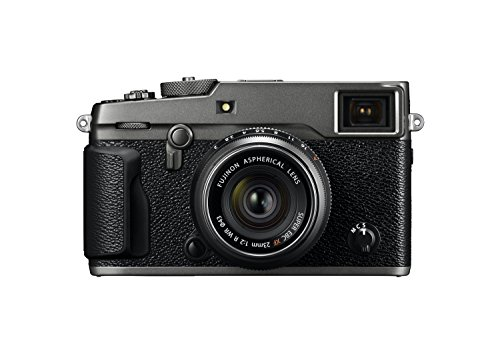 Fujifilm X-Pro2 Digital Camera with XF23 mm F2 R WR Lens - Graphite