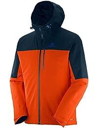 Salomon La Cote Insulated Jkt M - Veste pour Homme, couleur Orange, taille L