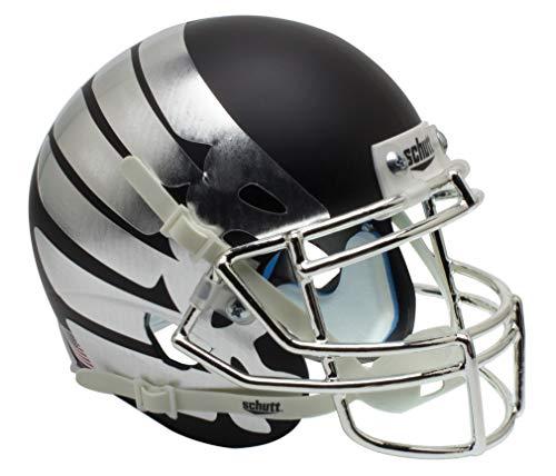NCAA Oregon Ducks Wing matt schwarz Mini Helm, eine Größe, weiß