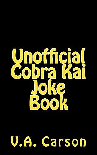 Price comparison product image Unofficial Cobra Kai Joke Book