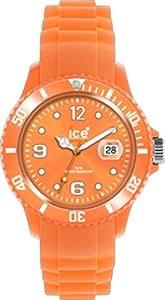 Ice Watch - SS.FO.B.S.11 - Montre Homme - Quartz Analogique - Cadran Orange - Bracelet Silicone Orange - Grand Modèle