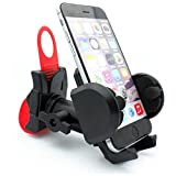 Neva Wireless Rotating Bicycle Mount Handlebar Phone Holder with Strap for At&T Samsung Galaxy S 4 SGH I337 At&T Samsung Galaxy S3 Mini At&T Samsung Galaxy S4 Active Gt I9295
