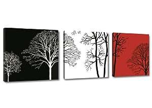 Quadro su tela arte moderna 150 x 50 cm 3 tele modello nr for Quadri da arredamento moderno