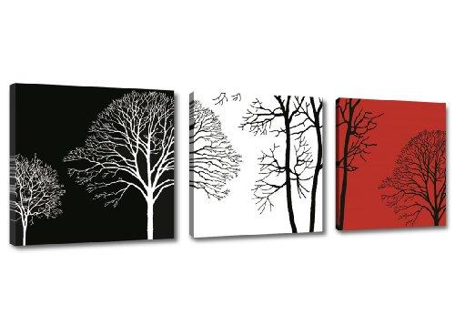 Quadro su tela arte moderna 150 x 50 cm 3 tele modello nr xxl 4208. i quadri sono montati su telai di vero legno. stampa artistica intelaiata e pronta da appendere