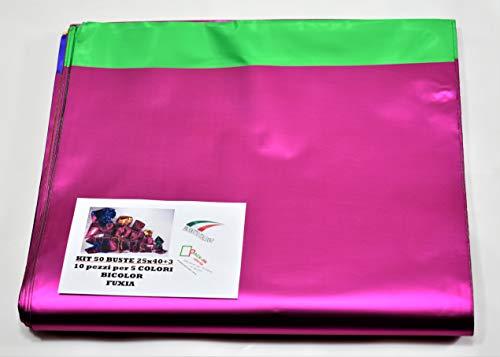 Juego paquete Regalos. sobres bicolor Line. 50sobres