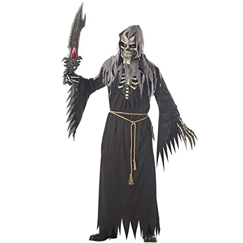 GAOGUAIG AA Männer Engel des Todes Kostüme Halloween-Party Cosplay Anime Cosplay Halloween-Party Rollenspiel Engel des Todes Kostüme SD (Color : Onecolor, Size : Onesize) (Engel Des Todes Kostüm Männer)