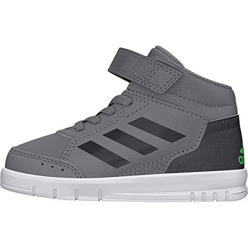 adidas Unisex-Kinder AltaSport Mid EL Fitnessschuhe, Grau (Gritre/Gricin/Limsho 000), 25 EU (Baby Schuhe Kd)