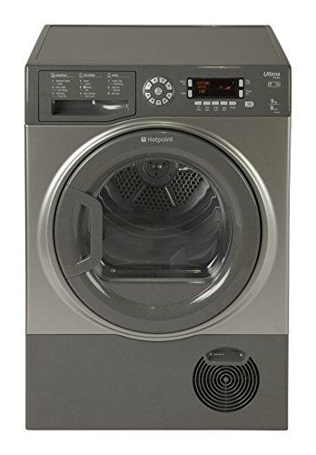 Hotpoint Ultima SUTCD97B6GM 9kg Condenser Dryer - Graphite Best Price and Cheapest