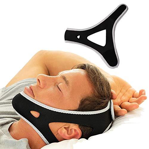 Stop Schnarchen Kinnriemen, Anti-Schnarch-Kinnriemen, Bequem, Schnarch-Reduktion, Schnarch-Stopper, Schlafhilfe Für Besseren Atem Für Männer Und Frauen -