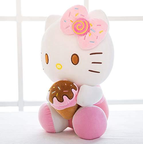 mzcyl Plüschtier Kt Katze Hello Kitty Mädchen Kissen Kinder Kreative Geschenke 30Cm Pink (Hello Kitty-geschenke Für Kinder)