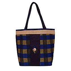 Womaniya Women's Jute Handbag(Size-46 Cm x 36 Cm x 10 Cm)