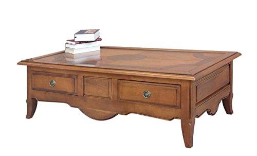 Arteferretto Table Basse rectangulaire marquetée