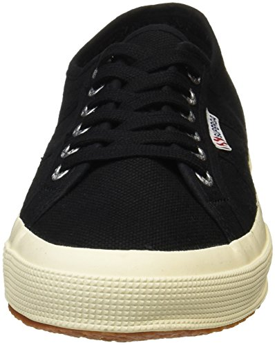 Superga 2750 Cotu Classic, Sneakers Unisex - Adulto Nero (Black 999)