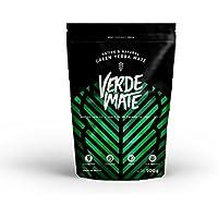 Yerba Verde Mate Green Despalada 500g | Verde Mate Green Despalada | Yerba Mate de Brasil | Alta calidad | Yerba mate fuertemente estimulante | Sin gluten | Secada sin humo