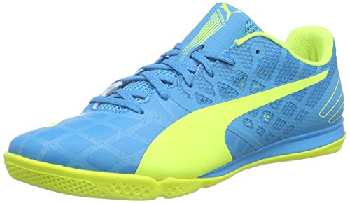 Puma evoSPEED Sala 3.4 Herren Futsalschuhe Blau (atomic blue-safety yellow-safety yellow 11)