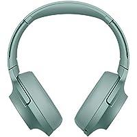 Sony WHH900N - Auriculares de Diadema inalámbricos (H.Ear, Hi-Res Audio, cancelación de Ruido, Sense Engine, Bluetooth, Compatible con aplicación Headphones Connect) Verde