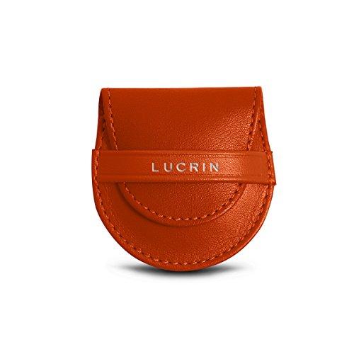 Lucrin - Gancio Appendi Borsa - Pelle Liscia Arancione