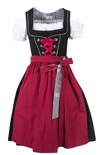 Ramona Lippert Maxidirndl Dirndl Pia + 3 Schürzen (34)