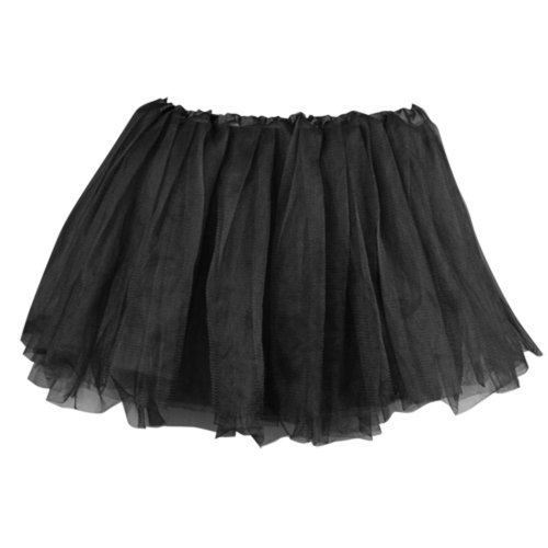 FACILLA® Kids Girls Child Black Ballet Dance Elastic Tulle Tutu [Baby Product]
