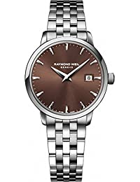 RAYMOND WEIL WOMEN'S 44MM STEEL BRACELET & CASE QUARTZ WATCH 5988-ST-70001