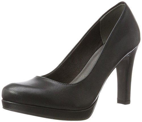 Tamaris Damen 22426 Pumps, Schwarz (Black Matt), 38 EU