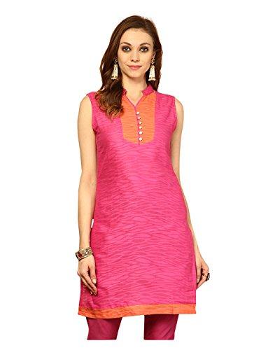 Yepme Women's Pink Cotton Ethnic Kurtis - YPMKURT1278_XS