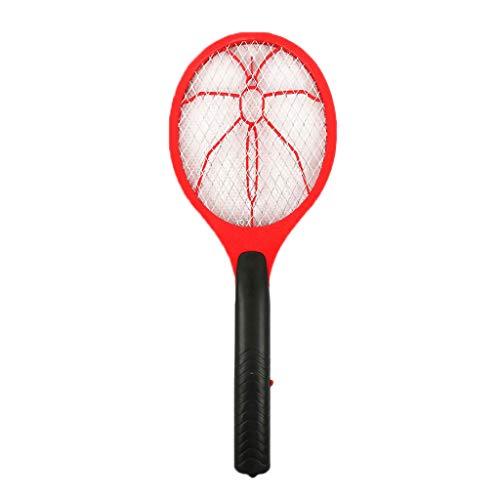 TianranRT Fehler Pest Insekt Fliegen Handheld Schläger Mörder Moskito Klatsche (Rot)