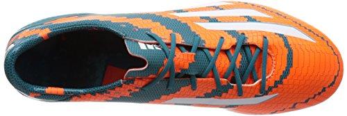 adidas Messi Mirosar10 10.1 Sg, Chaussures de Football homme Orange (power Teal F14/ftwr White/solar Orange)
