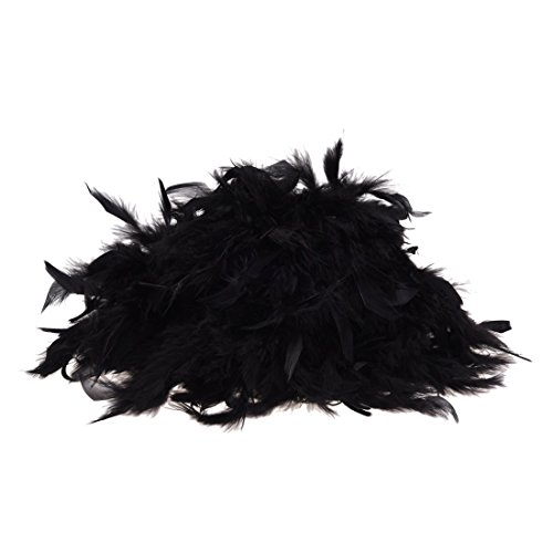 Timagebreze Feather boa - Black - Great for Hen and Stag Nights