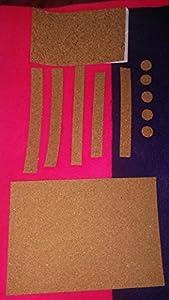 Clarinet Tenon & Pad Replacement Peel Stick Cork & 5 Peel Stick Clarinet Pads. UNIVERSAL Fit. EZ Cork