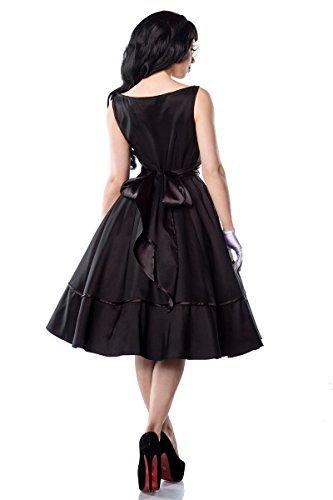 Hochwertiges 50er Jahre Rockabilly Kleid mit rückseitiger Satinschleife - 3