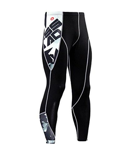 Leggins Hombre Deporte Running Fitness Pantalon Moda Calavera...
