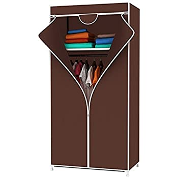 Evana 2.3 Feet Creative Cabinet,Easy Installation Folding Collapsible Wardrobe Cupboard (Color As Available)