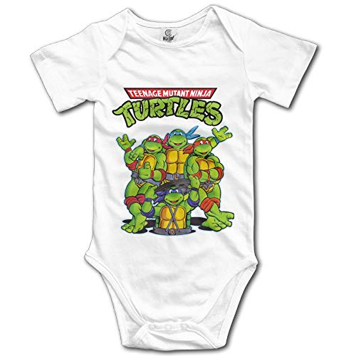Teenage Mutant Ninja Turtles Unisex Short Sleeve Bodysuit Set for Baby 12 Months