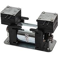 Luftpumpe/Vakuumpumpe 12V 2 Zylinder Kompressor