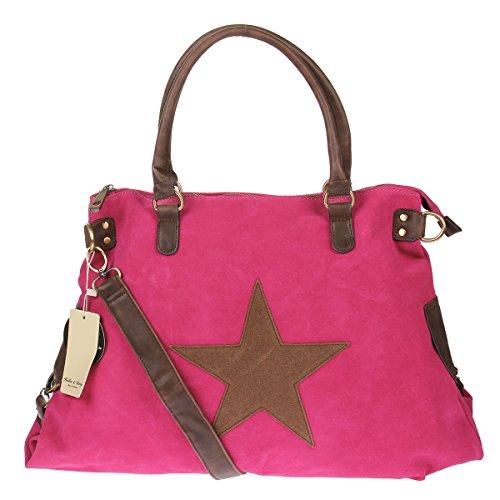 H&D, Borsa tote donna Pink