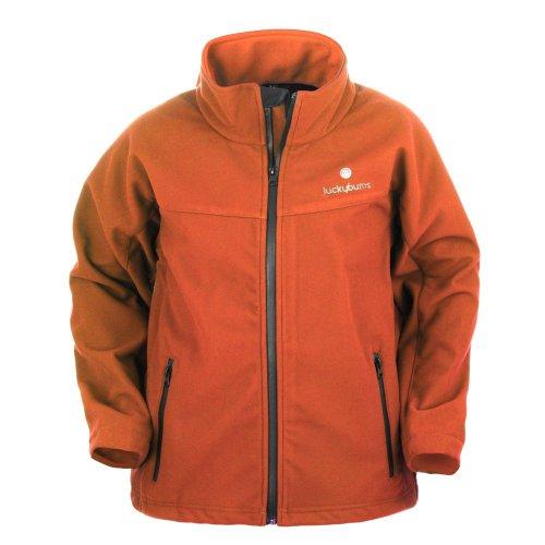 lucky-bums-kids-soft-shell-jacket-burnt-orange-large