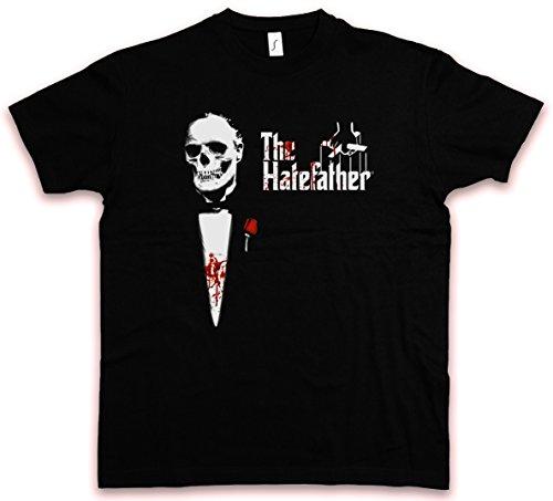 THE HATEFATHER HC HATE COUTURE T-SHIRT - The Al Der Mafia Godfather Brando Pate Pacino Shirt Größen S - 5XL (L) (Hc Jersey)